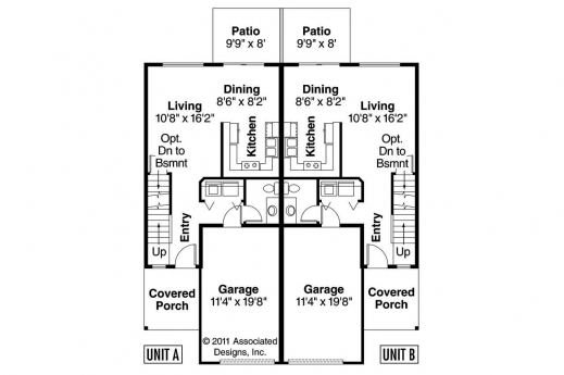 Duplex Floor Plans House Floor Plans
