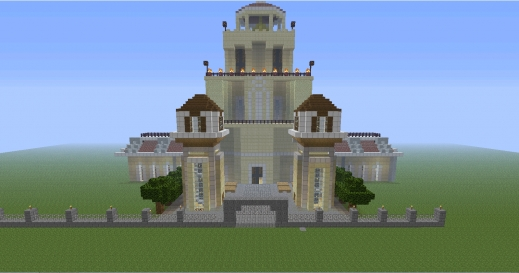 Incredible Fairy Tail Project Rebuilding Magnolia Screenshots Show Minecraft Fairytale House Plan Picture