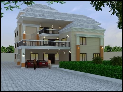 Incredible Gallery 3d Creation Elevation Designer In Rajkot Gujarat Rajkot  Home Plan Picture