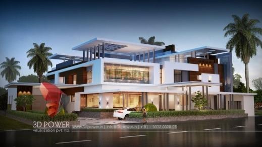 Inspiring Bungalow Render Rajkot 3d Power Rajkot Home Plan Picture