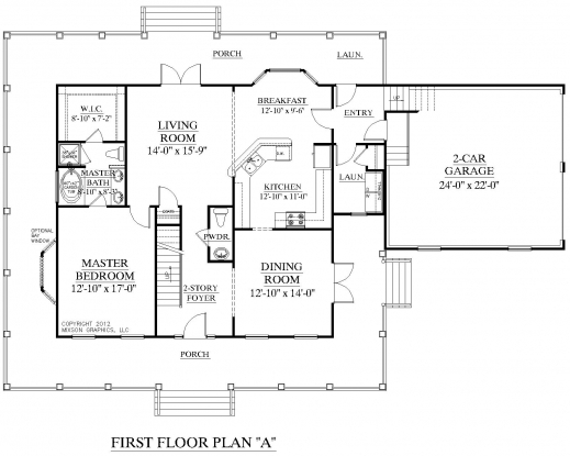 Inspiring House Plan 2341 A Montgomery A First Floor Plan Traditional 1 1 Plan For A House That Have One Dining Room And One Bedroom Pic