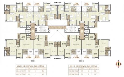 Inspiring Residential Floor Plans 4 Bedroom Semi Detached Duplex Ground G 2 Residential Building Floor Plan Images