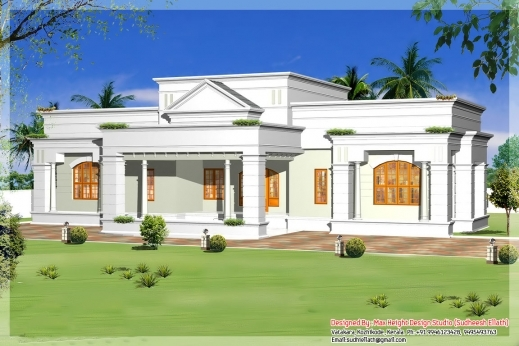 Inspiring Single Storey Kerala House Model With Kerala House Plans Kerala Single Story House Plans Photo