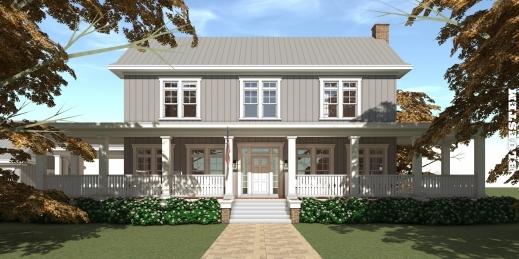 Marvelous Bluestem Farmhouse Plan 5 Beds 5 Baths Tyree House Plans Farmhouse Plans With Photos Image