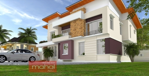 Marvelous Contemporary Nigerian Residential Architecture Nigeria House Plan Images