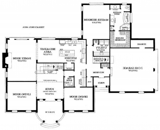Small House Design And One Floor Plan Spaces - House Floor Plans