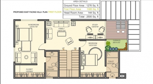Marvelous Pooja House Plan With Pooja Room Picture