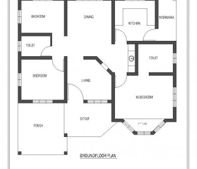 Outstanding 1320 Sqft Kerala Style 3 Bedroom House Plan From Smart Home Gf Kerala Home Designs Three Bedroom Plans Images