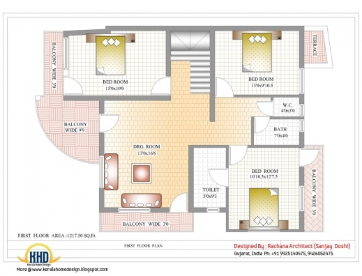 Outstanding 17 Best Images About House Designs On Pinterest House Plans Home Indian Home Design With Photos And Plan Photos