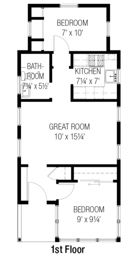 Outstanding 653624 Affordable 3 Bedroom 2 Bath House Plan Design House Within House Plan Two Bedrooms Inside Pic