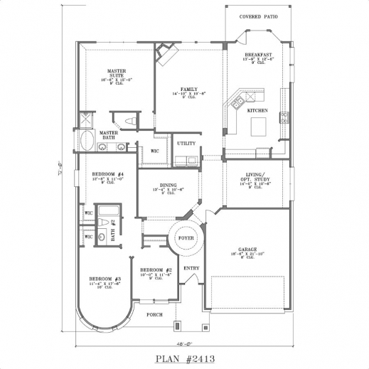 Outstanding Four Bedroomed Single Storey House Plan Decorate My House Plans Of 4 Bedroomed Single Storey Houses Photos