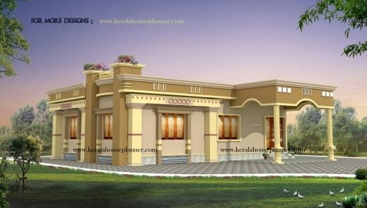 Outstanding Kerala House Plans 1200 Sq Ft With Photos Khp Kerala Single Story House Plans Photos