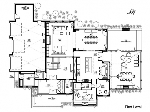 Outstanding Mansions Amp More Contemporary Mansion W Floor Plans Plan Images Beautiful Mansion Floor Plans Pic