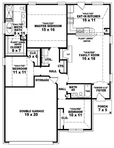 Outstanding One Story House Plans 3 Bedroomsstoryhome Plans Ideas Picture 3 Bedroom House Floor Plans Single Story Pictures
