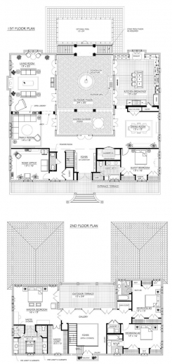Remarkable 17 Best Ideas About French Country House Plans On Pinterest Blue 3 Bedroom Modern French Style House Plans Pic