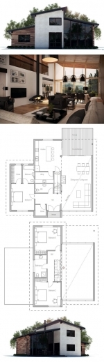 Remarkable 17 Best Ideas About Modern House Plans On Pinterest Modern House Ideas For Structured House Plans Photo