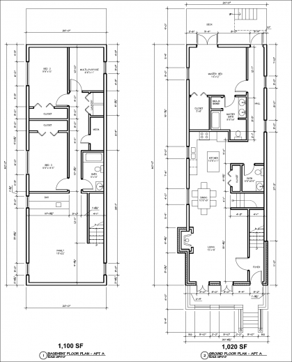 2 Bedroom 1 Bath Duplex Floor Plans on single level duplex house plans with garage