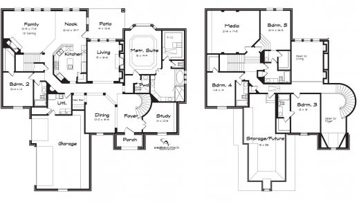 Remarkable Four Bedroom House Plans Two Story 3 Gorgeous Best 2016 For Your 2016 House Plans Picture