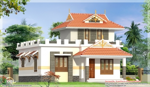 Single Floor Elevation Image : Remarkable single floor house elevation kerala home design