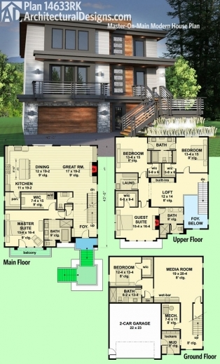 Stunning 17 Best Ideas About Modern House Plans On Pinterest Modern House Ideas For Structured House Plans Image