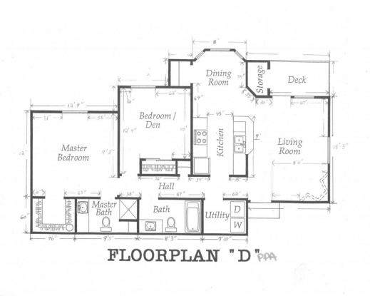 Architecture home plan with dimansion house floor plans for Easy online floor plan maker