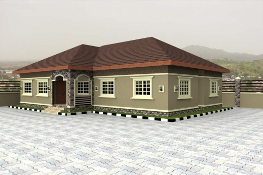 Stunning Home Plans For Bungalows In Nigeria Properties 4 Nairaland House Nigeria House Design Plans Photo
