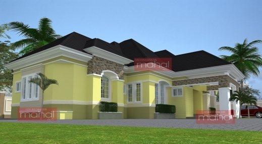 Stylish Architectural House Designs In Nigeria Bedroom And Living Room Nigeria House Design Plans Images