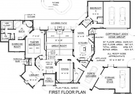 Stylish Floor Design Country House S With Open Nature French Plans Plan Beautiful House Plans Pictures Big House Pictures