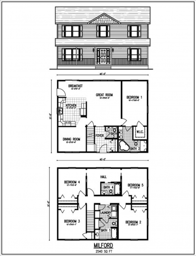 Wonderful Beautiful 2 Story House Plans With Upper Level Floor Plan Mewe 2 Story Small Beautyful House Plan Images