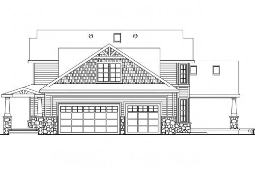 Wonderful Craftsman House Plans Tillamook 30 519 Associated Designs House Plan And Elevations Photo