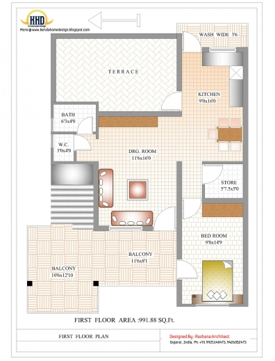 Wonderful House Planning Design In India Architectural Sketch Of House Plan Indian Home Design With Photos And Plan Photo