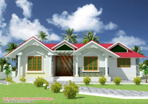 Wonderful Single Floor House Designs Kerala House Planner Kerala Single Story House Plans Pictures