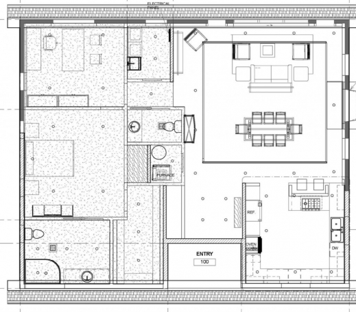 Awesome Rectory Project Floor Plan And Elevation Saint Anthony Elevation Floor Plan Pictures