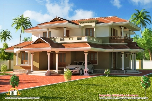 Fantastic Kerala Style Story House Sq Ft Indian House Plans Story House Single Story House Interior Design Open Floor Plan Pic