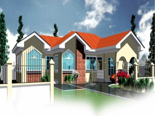 Fascinating Modern House Plans In Ghana Escortsea Ghana Houseplan Image