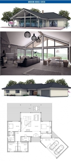 Incredible 25 Best Ideas About One Floor House Plans On Pinterest Open Single Story House Interior Design Open Floor Plan Pic