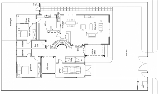 Incredible Ghana House Designs Floor Plans House Plans In Ghana Africa Ghana House Floor Plans Pictures