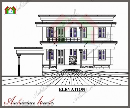Incredible House Plan And Elevation 1700 Sq Ft Kerala Home Design And Floor House Plan And Elevation Drawings Photo