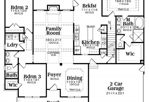 Single Story House Interior Design Open Floor Plan House