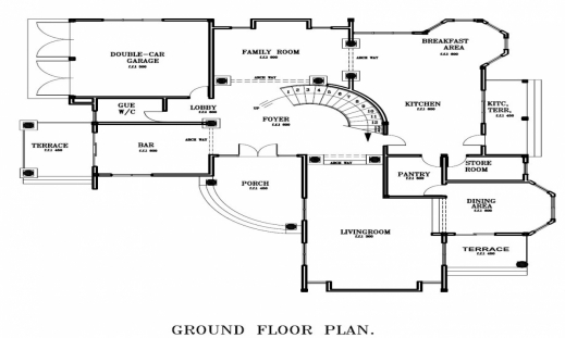 Remarkable Ghana House Floor Plans Simple Small House Floor Plans House Ghana House Floor Plans Photo