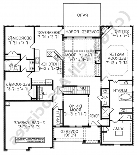 Fantastic House Plans Ranch Home Design 2015 Style The Wate Cltsd Desi Style Cottage House Plan Picture
