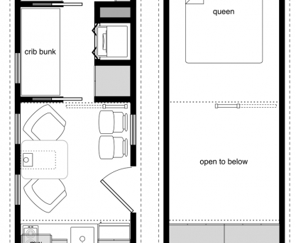 Gorgeous Free Diy Tiny House Plans To Help You Live The Happy Life 10 X Floor Plan 8x20 8x20 Tiny House On Wheels Plans Image