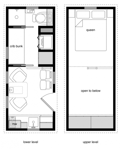 Gorgeous free diy tiny house plans to help you live the for 10 x 20 cabin plans