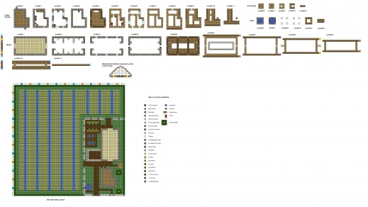Incredible Minecraft Farmhouse Pictures To Pin On Pinterest Pinsdaddy Farmhouse Barn Plans Pictures