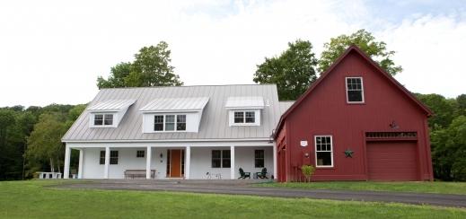 Outstanding Morgan Farmhouse Style Home Plans Yankee Barn Homes Farmhouse Barn Plans Pic